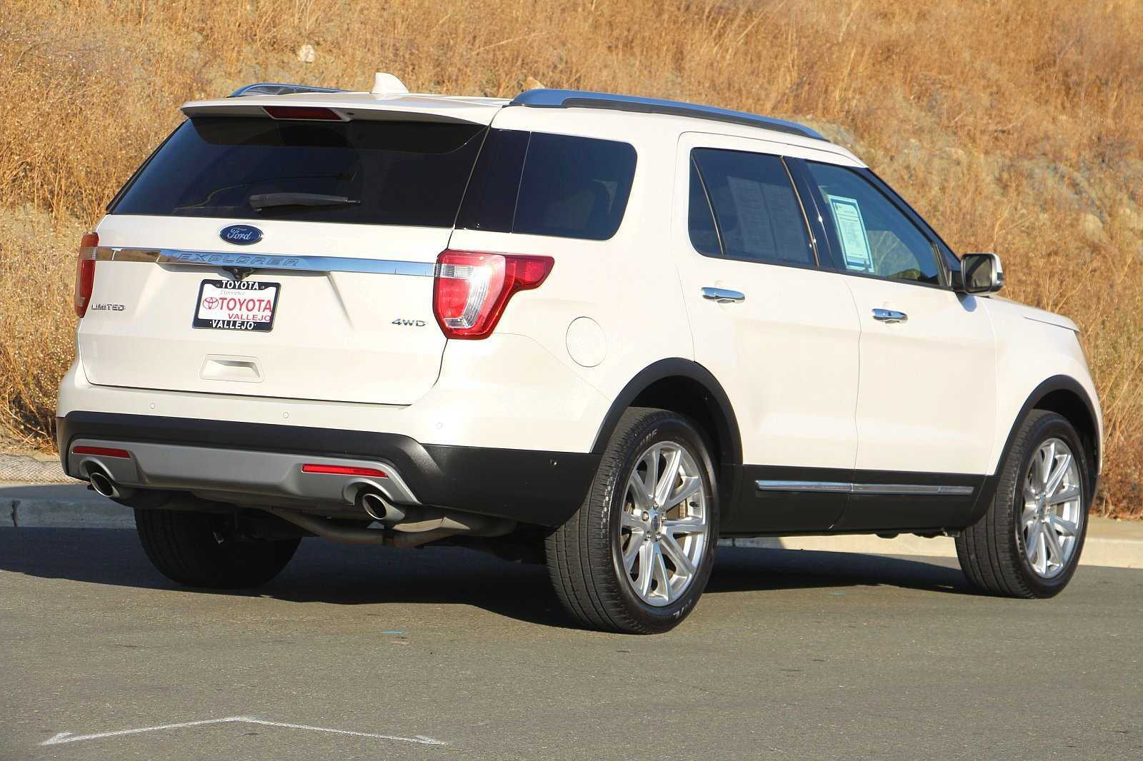 Pre-Owned 2017 Ford Explorer Limited 4D Sport Utility