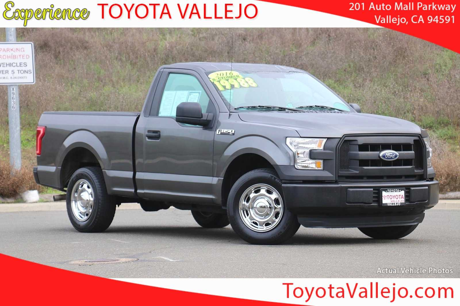 Pre-Owned 2016 Ford F-150 XL 2D Standard Cab