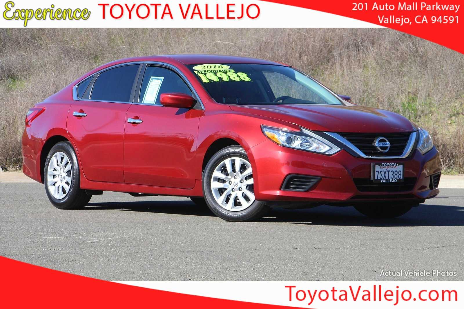 Used Nissan Altima 2016 Vallejo Ca