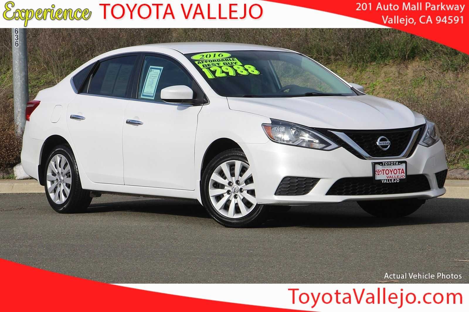Pre-Owned 2016 Nissan Sentra SV 4D Sedan