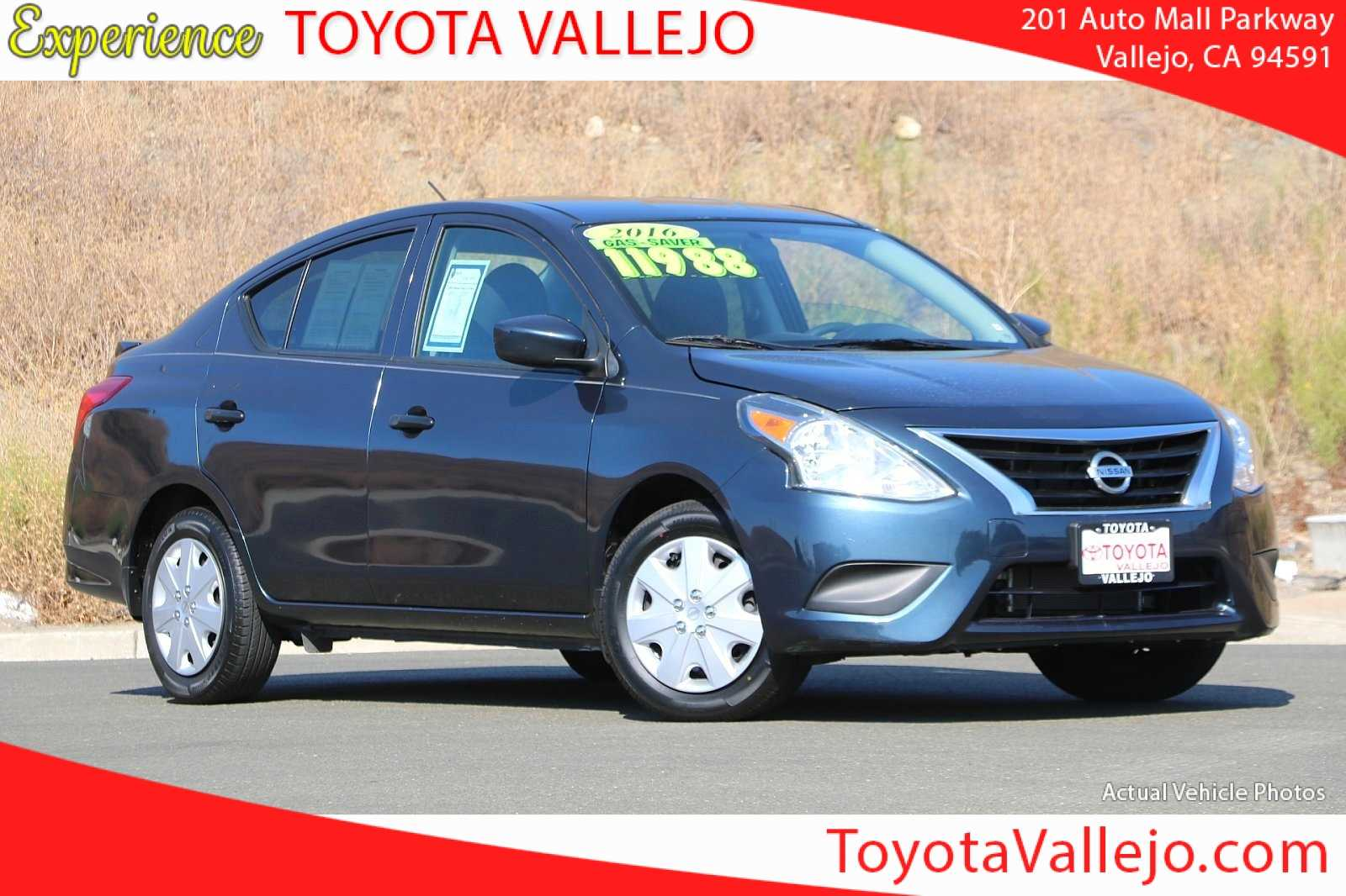 Pre-Owned 2016 Nissan Versa 1.6 S Plus 4D Sedan