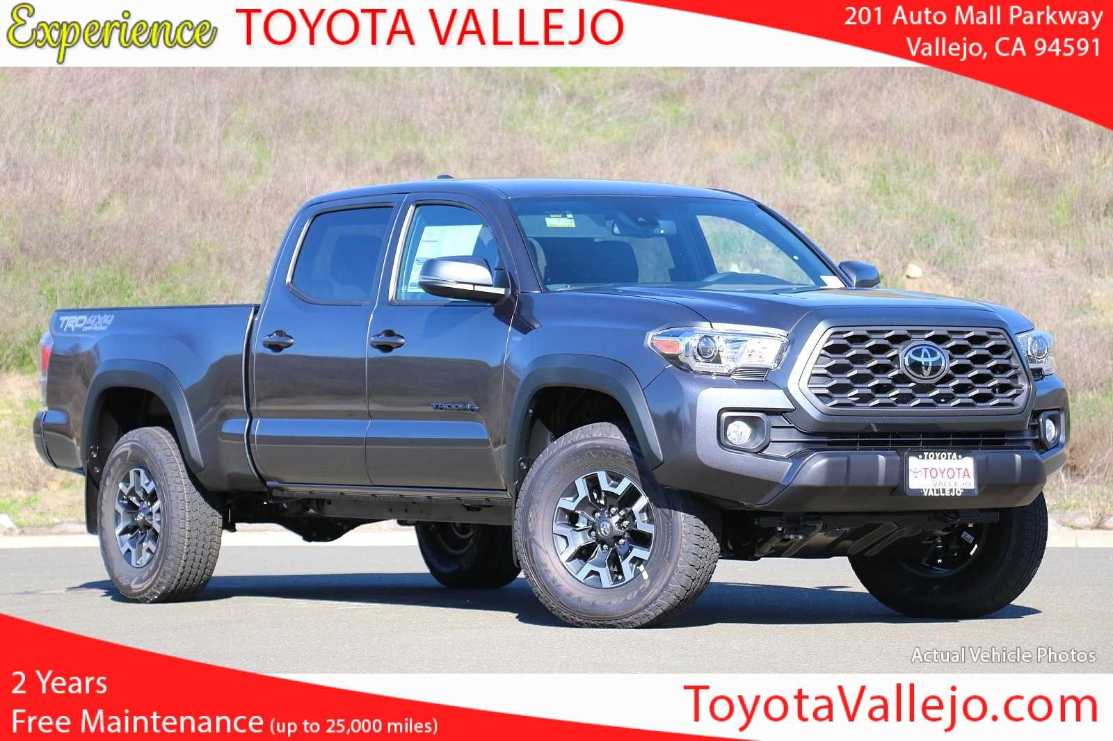 New 2020 Toyota Tacoma Double Cab Automatic Long Bed TRD Offroad