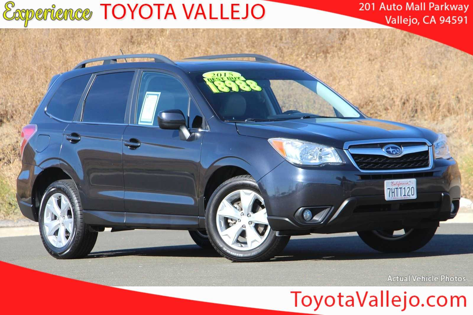 Pre-Owned 2015 Subaru Forester 2.5i Limited 4D Sport Utility