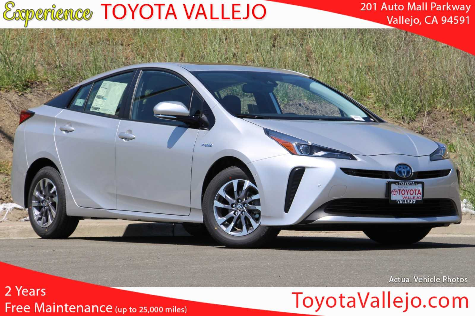 New 2019 Toyota Prius Limited