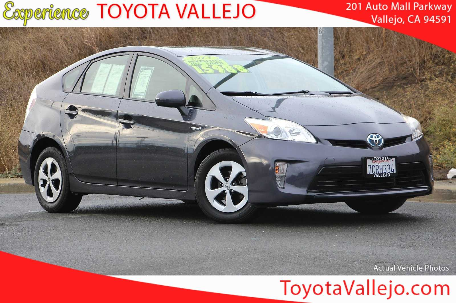 Certified Pre-Owned 2013 Toyota Prius Prius Three