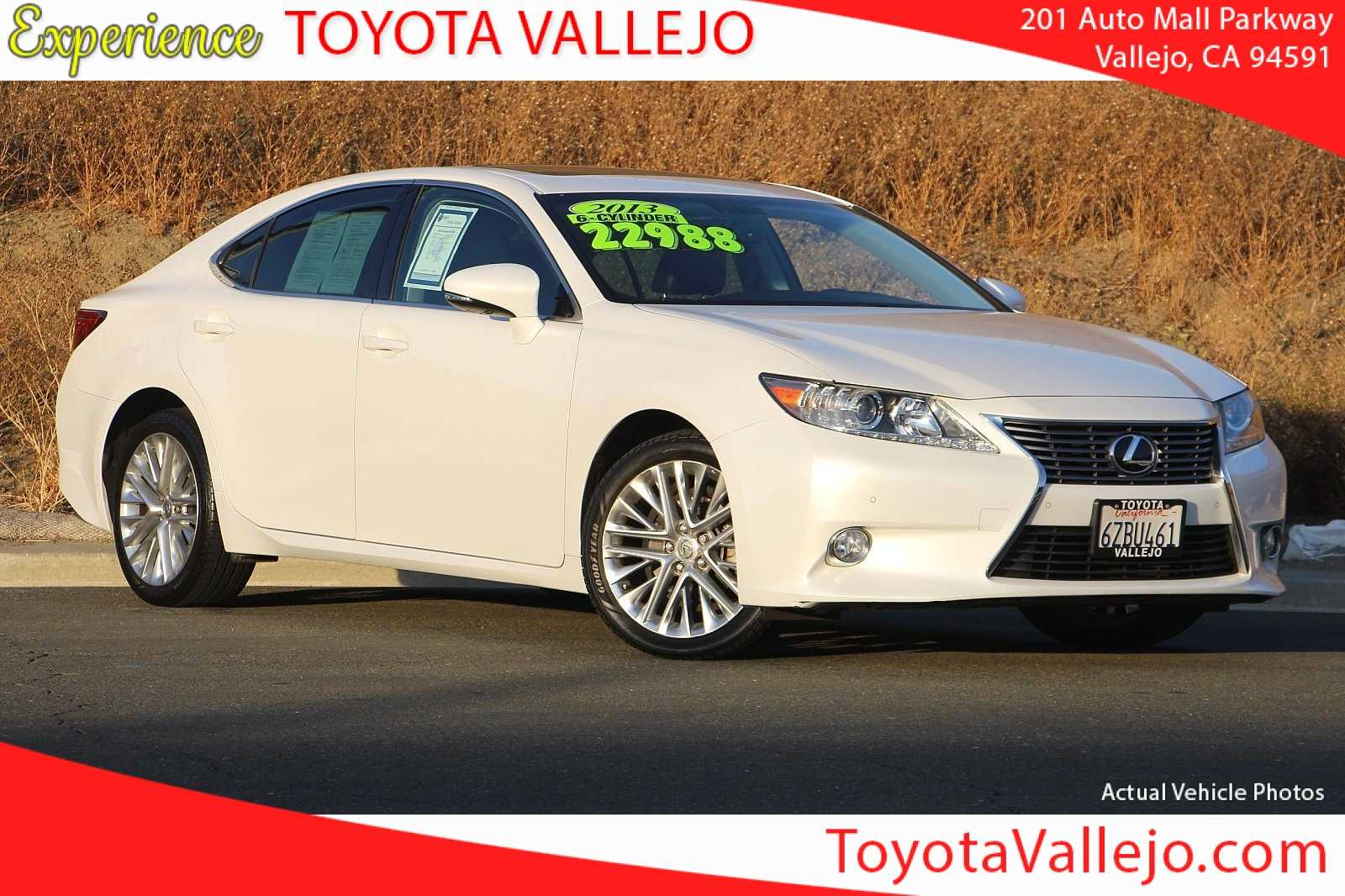 Pre-Owned 2013 Lexus ES 350 4D Sedan