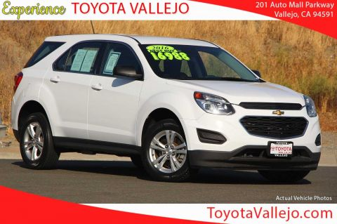Pre-Owned 2016 Chevrolet Equinox LS 4D Sport Utility