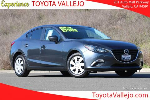 Pre-Owned 2016 Mazda3 i 4D Sedan