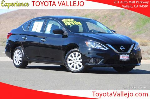 Pre-Owned 2016 Nissan Sentra S 4D Sedan