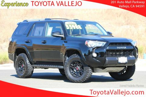 Certified Pre-Owned 2015 Toyota 4Runner 4.0L Automatic TRD PRO