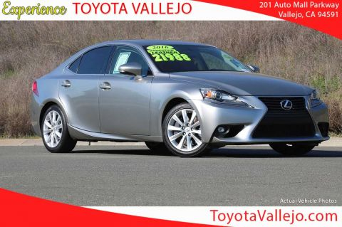 Pre-Owned 2016 Lexus IS 200t 4D Sedan